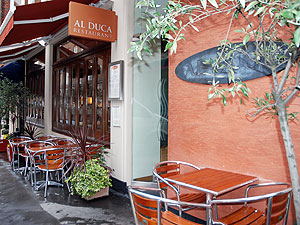 Outside picture of Al Duca restaurant London