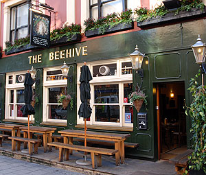 Outside picture of the Beehive restaurant London